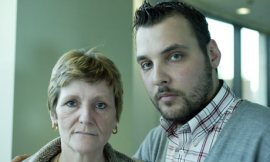 Ian Tomlinson's Widow, and Son, Paul. They Want answers